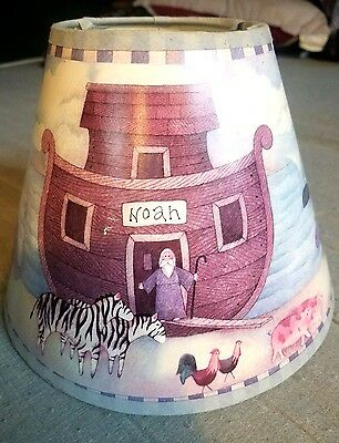 childs Noahs Ark Lamp shade Room decor