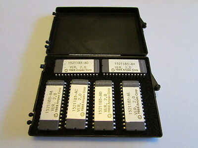 Vintage Lot of 6 New Ampex Integrated Circuit Processor Chips 1521182  NOS