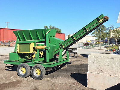 Soil Mixer Shredder -- Royer 181/262 or Lindig L25 Equivalent; Portable