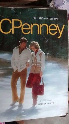 Vtg JC PENNEY CATALOG ~ FALL and WINTER 1975