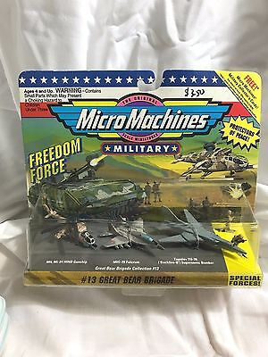 1993 Micro Machines Military Freedom Force - #13 Great Bear Brigade