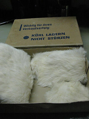 Vintage Kuhn  Fur Purse Hand Muff And Scarf Set Original Germany Mib