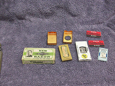 Lot of Vintage Razor Blades, Razor Box and Vestpok Blades!