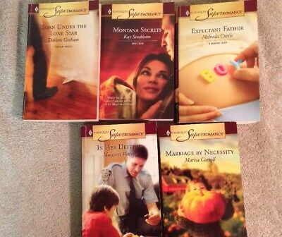 Harlequin Superromance lot of 5 contemporary romance 2005