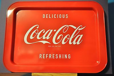 17.25x12.5 Red Coca-Cola Serving Tray