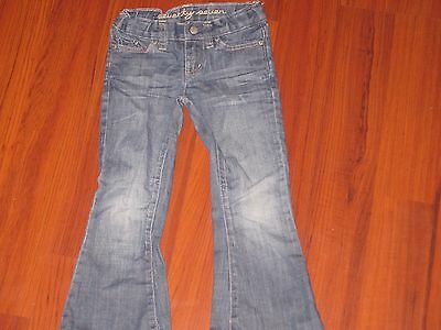 77 Kids by American Eagle Girl's Flare Jeans adjustable waist Size 4