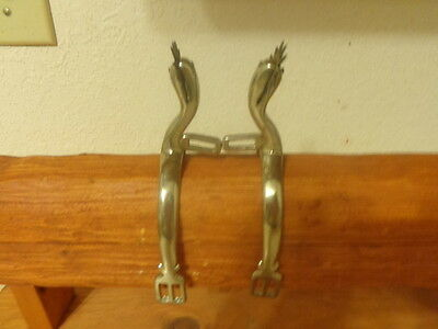 Pair Of Blood Letting English Spurs