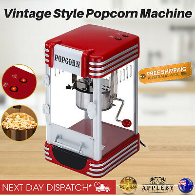 310W Popcorn Machine Popper Popping Classic Cooker Microwave stirring system