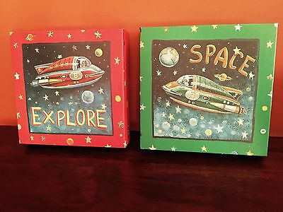 Kid Room Decor - Outer Space Pics