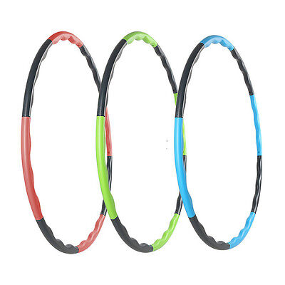Body Fit By Sports Authority Weighted Hula Hoop Fitness Workouts Exercises Fit