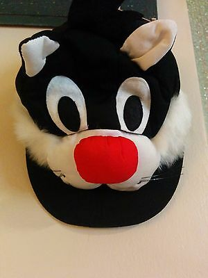 Vintage Sylvester Looney Tunes Toppers Character Hat/Cap Arbys 1989 With Tags