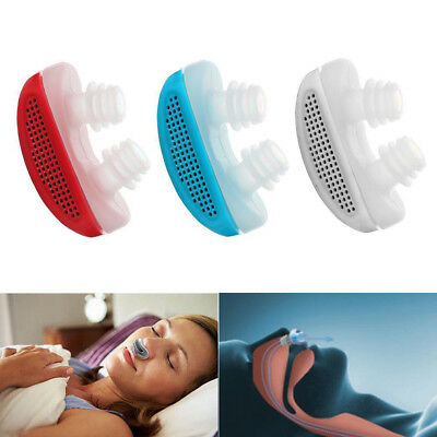 New Anti Stop Snoring Snore Free Magnetic Silicone Snore Stopper Sleep Device