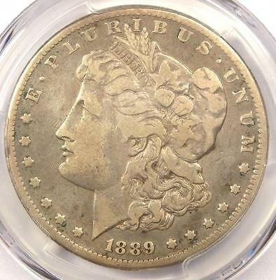 1889-CC Morgan Silver Dollar $1 - PCGS Fine Details - Rare Certified Coin