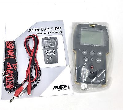 Martel BetaGauge BG301-30 Single Sensor Pressure Calibrator, 30 PSI Range NEW!