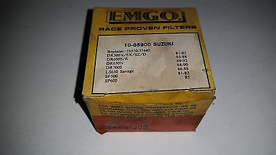 Emgo Oil Filter #10-85900 fits various Suzuki motorcycles new