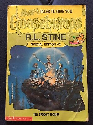 Goosebumps Book Special Edition #2 Ten Spooky Stories R. L. Stine