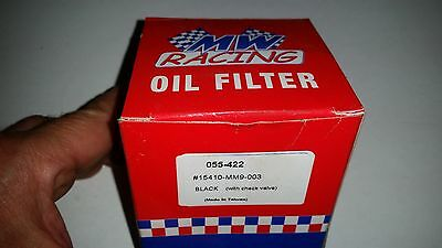 MW Racing oil filter 15410-MM9-003 or 055-422