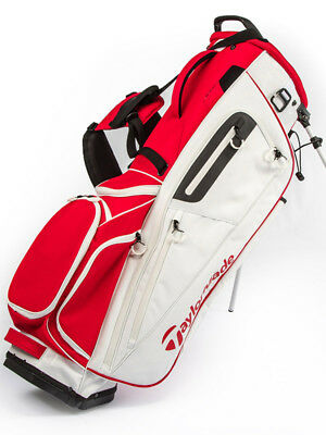 TaylorMade The Open Stand Bag White/Red