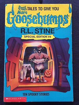 Goosebumps Book Special Edition #4 R. L. Stine