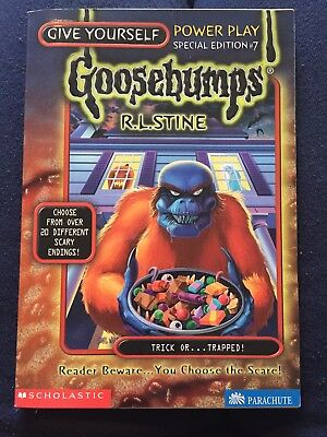 Goosebumps Book #7 Special Edition Trick Of Trapped R. L. Stine