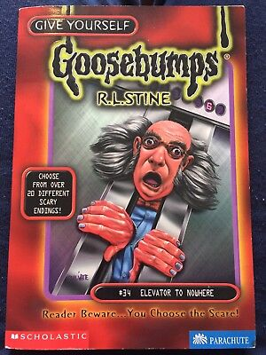 Goosebumps Book #34 Elevator To Nowhere R. L. Stine
