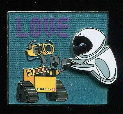 Wall-E and Eve Love Disney Pin 106482