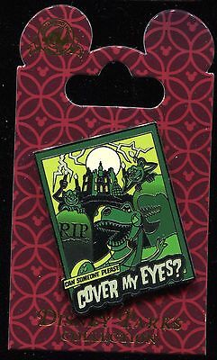 Toy Story Rex Can Someone Please Cover My Eyes Disney Pin 116570
