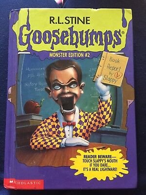 Goosebumps Book Monster Edition #2 R. L. Stine