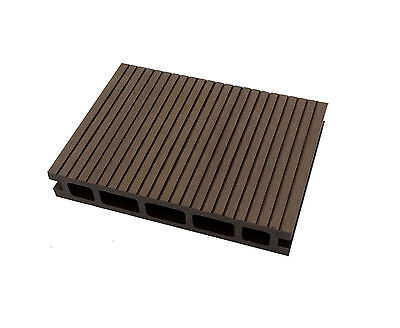 Composite Decking Clarity Walnut 49 Square Metre Pack (incl. fixings and screws)