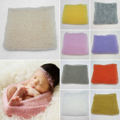 Newborn Baby Boy Girls Wrap Infant Photography Photo Prop Blanket Rug Photoshoot