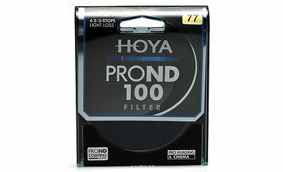 HOYA Pro ND100 Filter 49, 52, 55, 58, 62, 67, 72, 77, 82mm  6 2/3 stops  ND 100