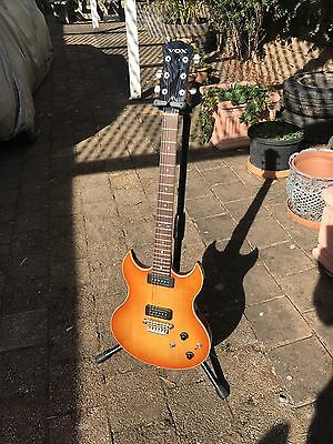Vox SDC 33  Double Cutaway Electric Guitar As New In Soft Case