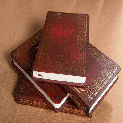 Stamping Hard Cover Notebook Business Notepad Student Journal Diary Book Splend