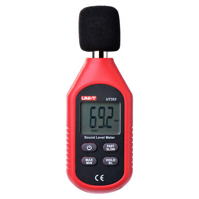 Digital Sound Pressure Level Decibel Noise Meter Tester Reader LCD Display BI526
