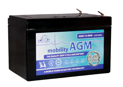 PRIDE GO CHAIR | Mobility Wheelchair | Heavier Duty replacement Battery PACK *