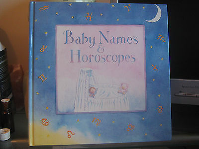 Baby Names & Horoscopes vintage Book