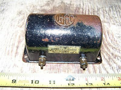 Old IHC FAMOUS TITAN Cast Iron Spark COIL Hit Miss Gas Engine Steam Western HOT!
