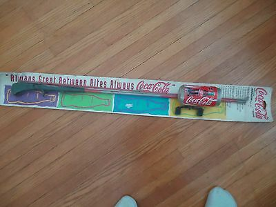 NEW Coca Cola FISHING ROD POLE Coke Can 1995 Reel Line in Factory Sealed Package