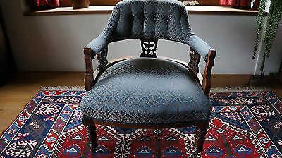 Antique Edwardian Sitting/easy Chair