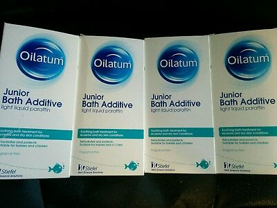 oilatum junior bath additive 4*300ml