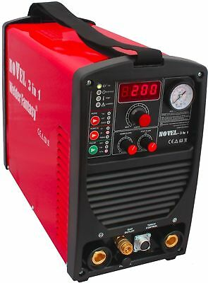 NOVEL 3 in 1 Welding Machine TIG / MMA / PLASMA Welder Fantasy