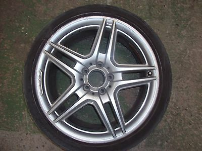 Genuine 18 amg alloy wheels picclick uk for Mercedes benz genuine wheels