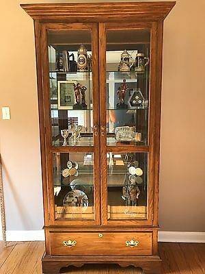 PENNSYLVANIA HOUSE Curio China Cabinet w/ Drawer