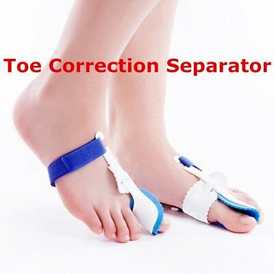 Universal Big Toe Bunion Device Splint Straightener Toe Correction Separat GT