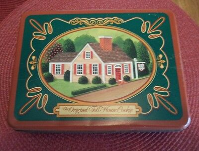Vintage Metal Cookie Tin The Original Toll House Cookie