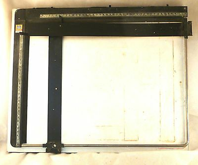PZO Technical Drawing Table, Engineer's Drawing Board Vintage 30x40