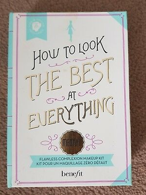 Benefit Cosmetics BNIB How to Look the Best At Everything MEDIUM Makeup Kit