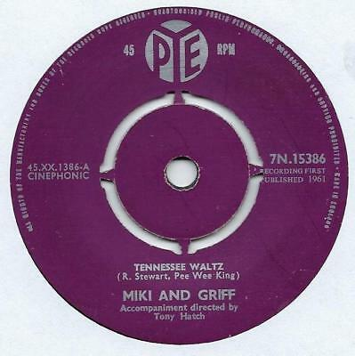 """Miki And Griff - Tennessee Waltz - 7"""" Single"""