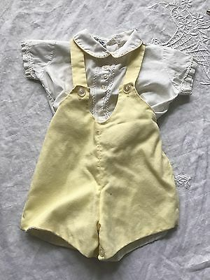 Vintage Infant Girls Two Piece Outfit