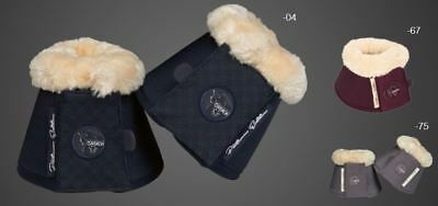 Eskadron Soft Faux Fur Horse Riding Equestrian Stable Yard Bell Overreach Boots